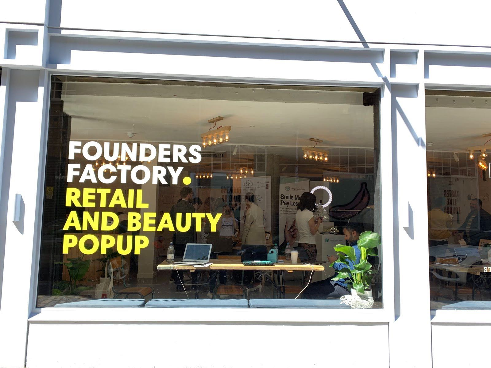 Founders Factory Beauty & Retail Pop Up