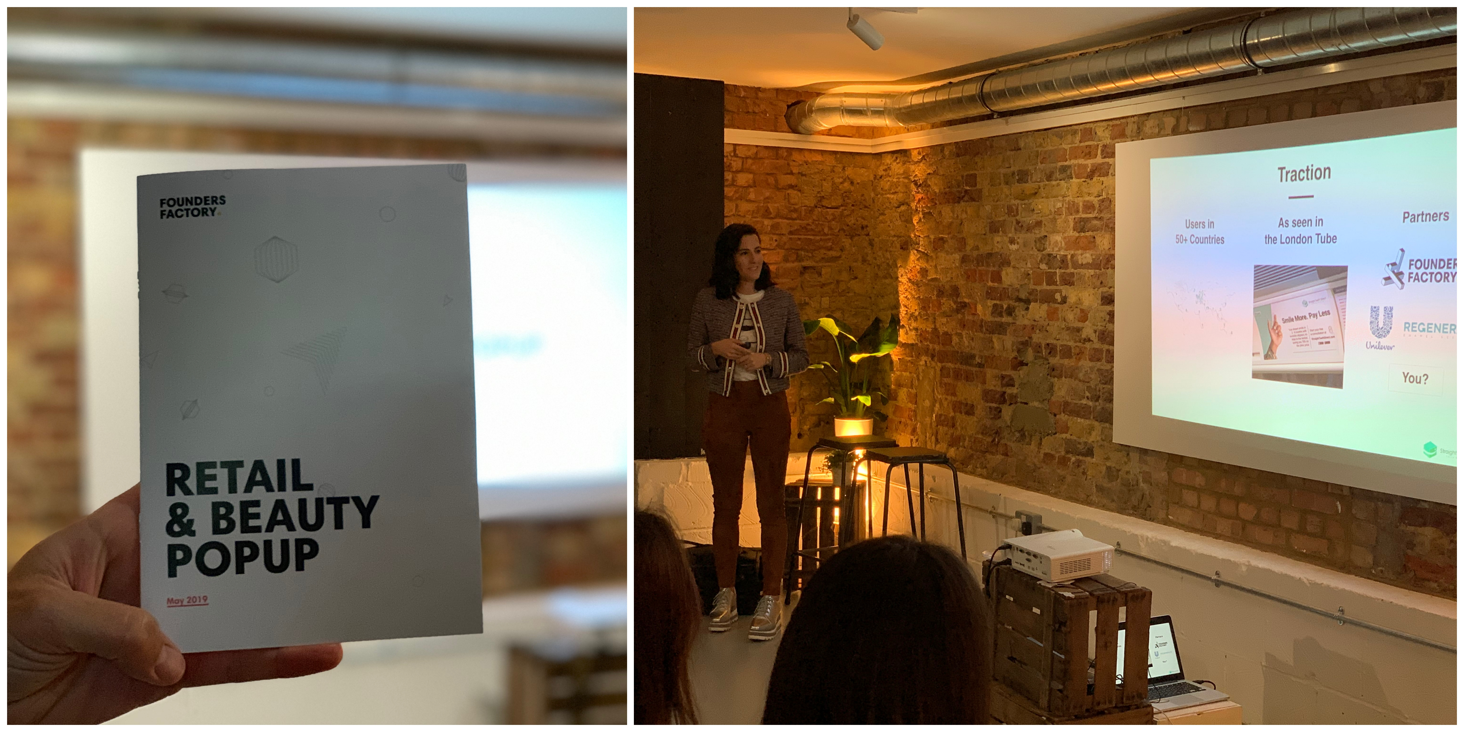 Founders Factory Beauty & Retail Pop Up Presentation